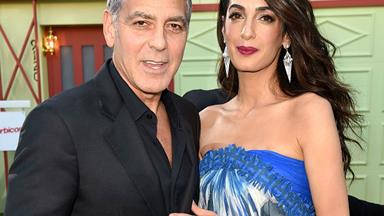Can you say power couple? Amal and George Clooney reveal their twins' first words