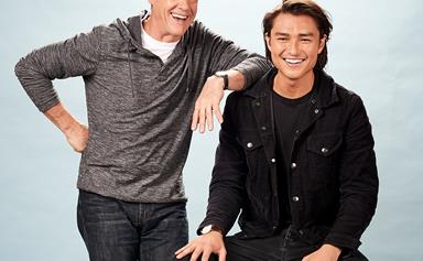 Neighbours' Tim Kano on why Stefan Dennis is his mentor