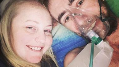 Wife's heart-wrenching tribute to husband after his cystic fibrosis death