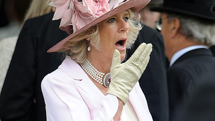 Camilla, Duchess of Cornwall.