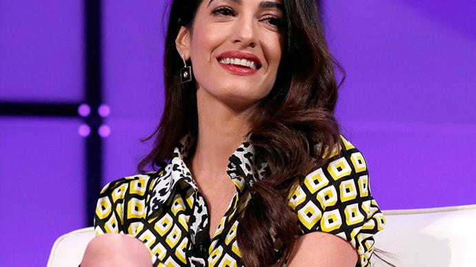 Amal Clooney beauty secrets