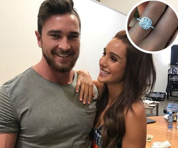BBG's Kayla Itsines is engaged to long term beau Tobi Pearce