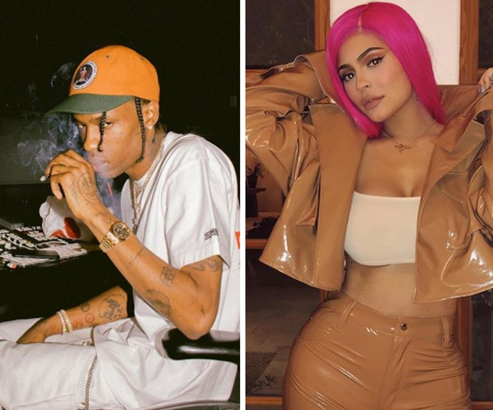 """Stay home and breastfeed your child"": Kylie Jenner and Travis Scott shamed for going to Coachella"