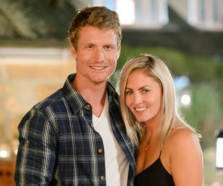 Nikki Gogan and Richie Strahan