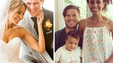 The way they were: A look back at MAFS' Alex Garner and Zoe Hendrix's romance in pictures