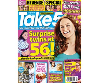Take 5 Issue 17 Coupon