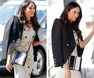 Shop the pieces: Meghan Markle steps out in Australian labels Oroton and Camilla and Marc