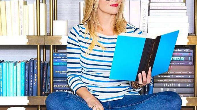 reese witherspoon book reading