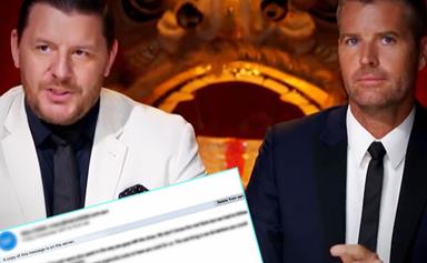 EXCLUSIVE: My Kitchen Rules' explosive email scandal