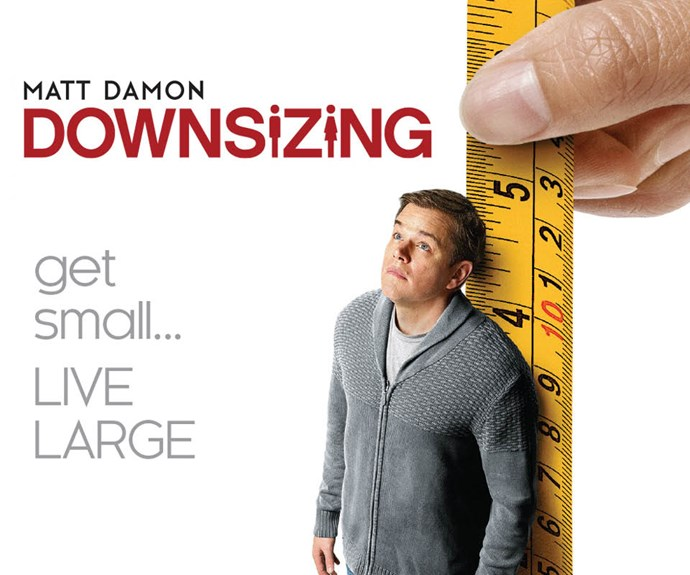 Win a copy of Downsizing on DVD