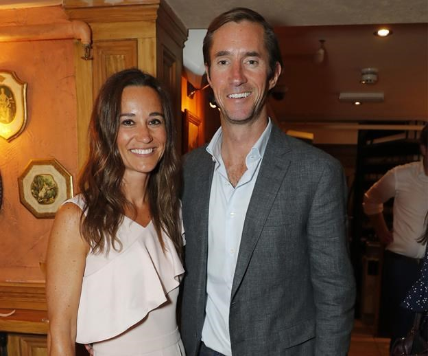 Congratulations: Pippa Middleton and James Matthews expecting their first child due in October