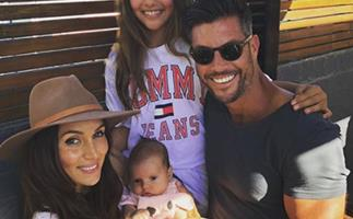 Sam Wood and Snez Markoski with baby Willow will MELT you
