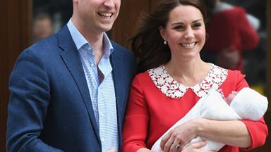 FIRST PHOTOS: Prince William and Kate Middleton introduce the world to their new royal baby