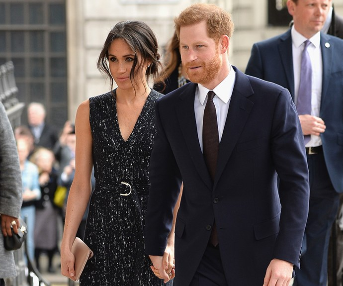 Prince Harry and Meghan Markle make first appearance since royal baby's birth