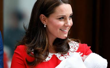 A nod to great grandma! Duchess Catherine's sweet tribute to the Queen after she gave birth