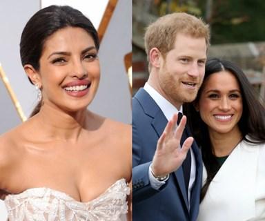 Priyanka Chopra just confirmed she'll be attending Harry and Meghan's royal wedding