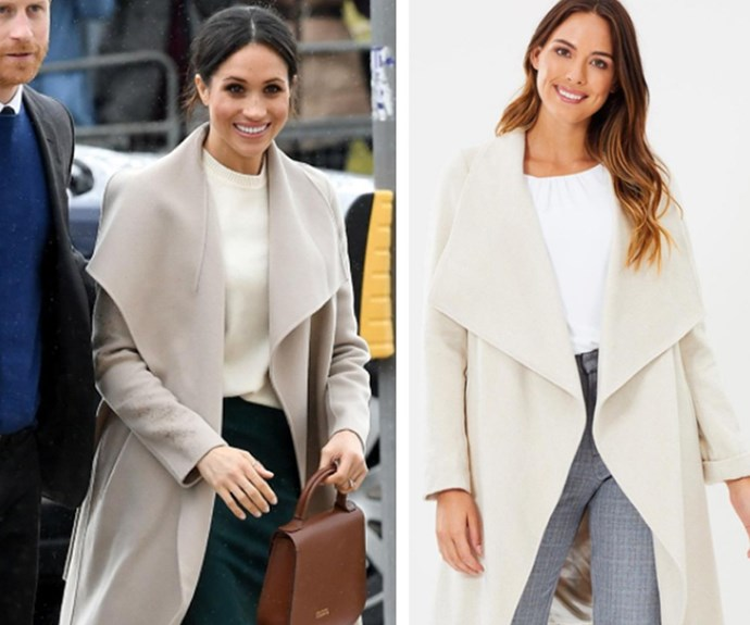 Winter coat shopping: Steal Meghan Markle and Duchess Kate's classic winter styles