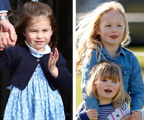 Queen Elizabeth great grandchildren