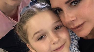 """Victoria Beckham's fans can't get enough of daughter Harper's """"posh"""" accent"""