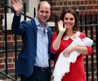New mums are posting their post-birth pics following Duchess Catherine's super-quick hospital stay