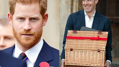 He's hiring! Prince Harry's private secretary steps down leaving the dream job open for the taking