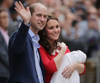 Prince Louis, Duchess Catherine, Prince William