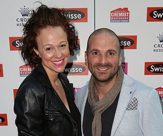 MasterChef judge George Calombaris and his wife Natalie Tricarico are in hot water over backyard gym