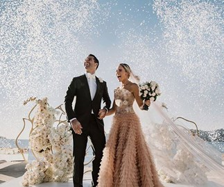 A $200,000 dress and three-day long celebrations: Aussie heiress has the most extravagant wedding we've ever seen!