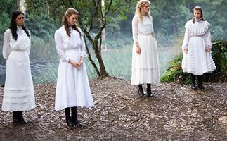 The cast of Picnic at Hanging Rock