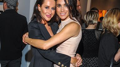 Meghan Markle's BFF Jessica Mulroney lands in London to help with her final dress fitting