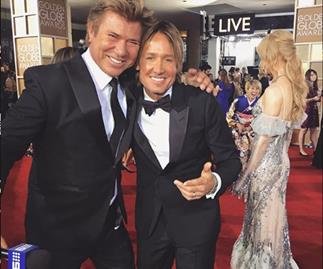 Richard Wilkins just became a grandfather and this pop is proud as punch!