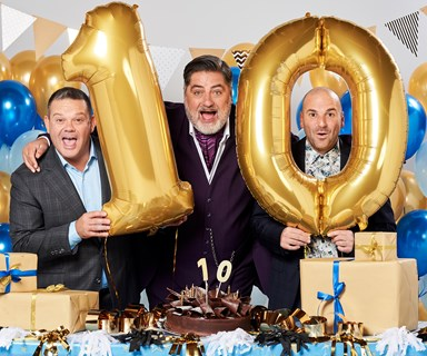 """MasterChef's Matt Preston, Gary Mehigan and George Calombaris on working together for ten years: """"You can't fake it!"""""""