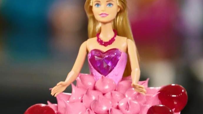 How to make The Australian Women's Weekly Barbie bubble cake