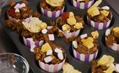 How to make The Australian Women's Weekly Barbie rocky road popcorn cups