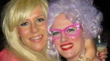 Sisters fight breast cancer at the same time on opposite sides of the world vow to recover and see each other again