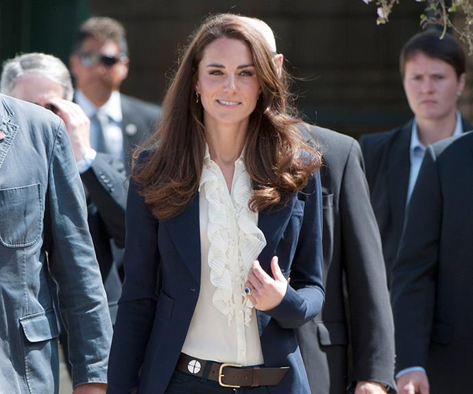 Pisces ladies, revamp your work wardrobe a la the Duchess of Cambridge. *(Image: Getty Images)*