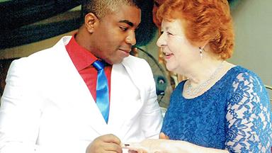 """But he's only 25, Mum!"" 75-year-old Angela has fallen in love, but he's 45 years her junior"