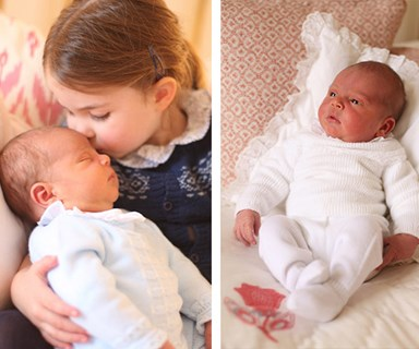 It's a royal double act! Princess Charlotte and Prince Louis star in stunning new family portraits