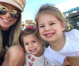 Candice Warner spotted smiling on rare outing with daughters, on their way to Hunter Jacenko's birthday party
