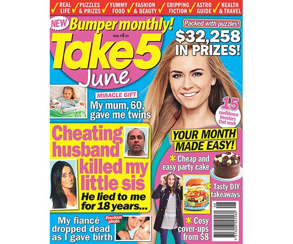 Take 5 Monthly June Issue