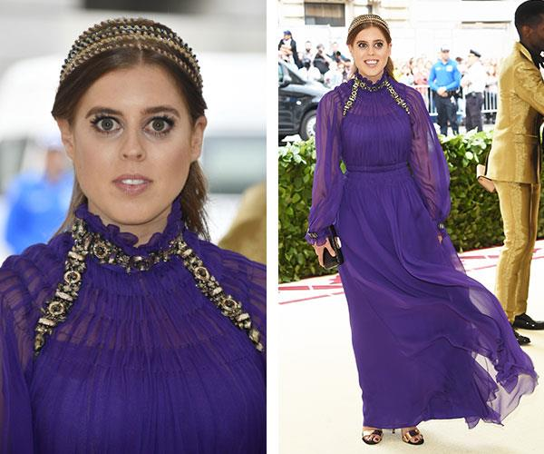 Princess Beatrice gives the Met Gala the royal seal of approval