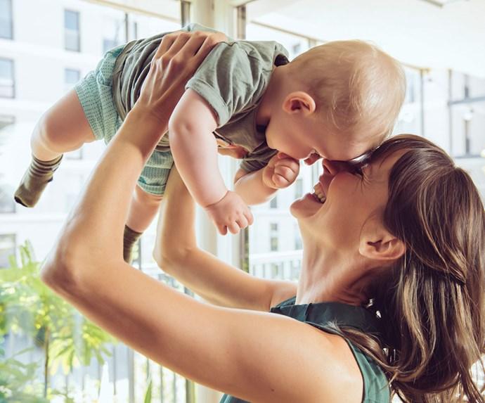 mum and baby photo