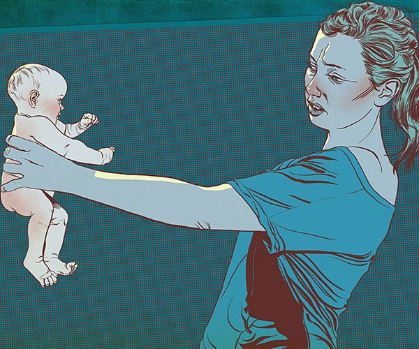 """Real life: """"I hate being a mother. I fantasise about abandoning my family and starting a new life somewhere people don't need me."""""""