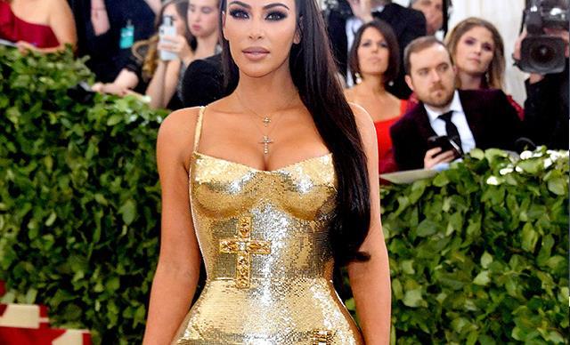 Kim Kardashian at the Met Ball Gala 2018
