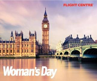 Win a $7000 trip to the UK with this week's Woman's Day