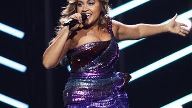 Jess Mauboy soars into the Eurovision grand final
