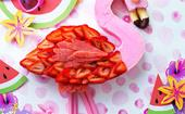 The ultimate special occasion cake: Flamenco Flamingo