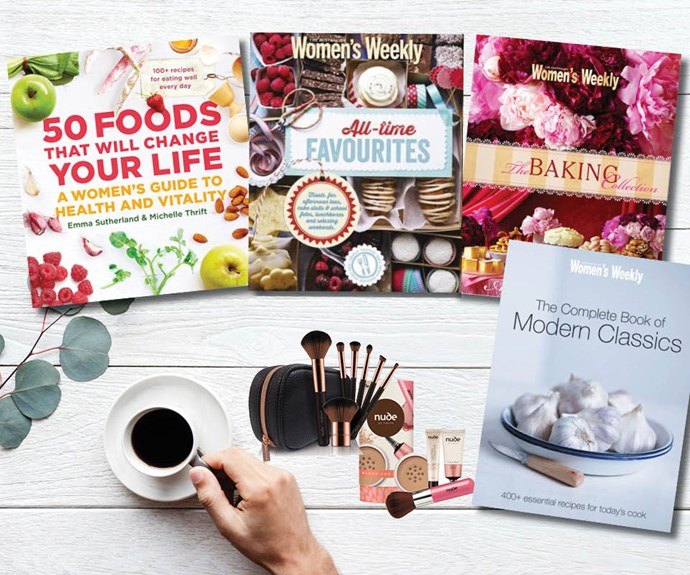 Win an Australian Women's Weekly cook book pack