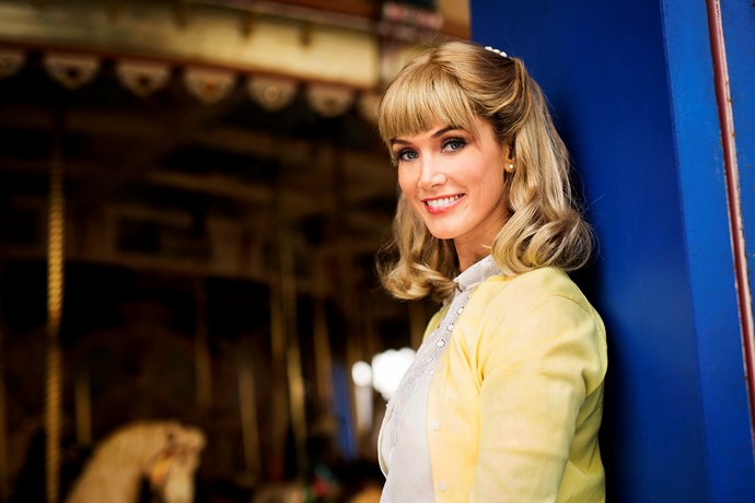 Delta Goodrem stars as Olivia Newton-John in new biopic.
