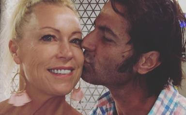 Lisa Curry and Mark Tabone honeymoon in India after tying the knot in an intimate ceremony